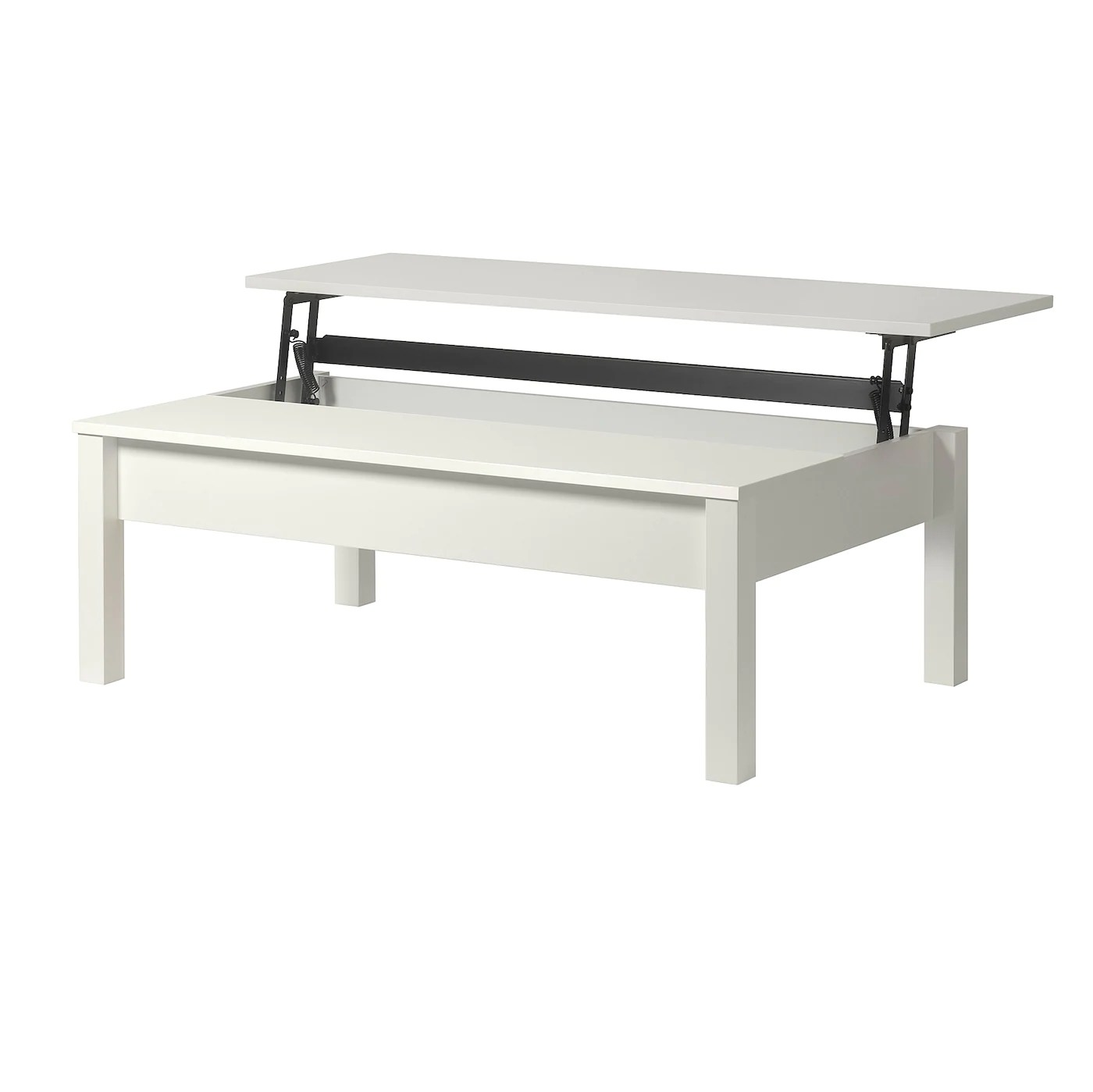 trulstorp coffee table white 115x70 cm