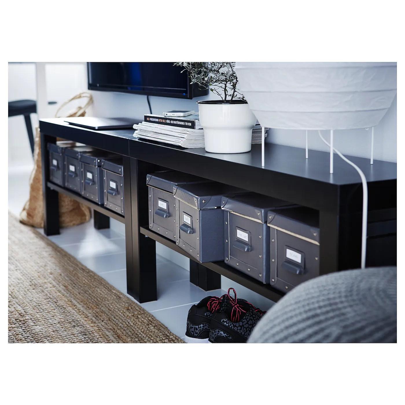 Lack Tv Bench Black 90x26x45 Cm Ikea