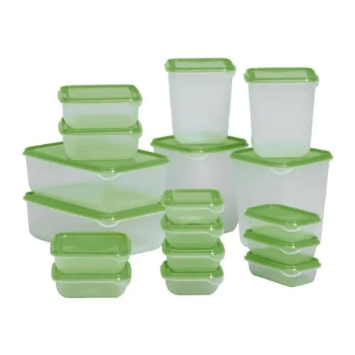 PRUTA Food container, set of 17 IKEA