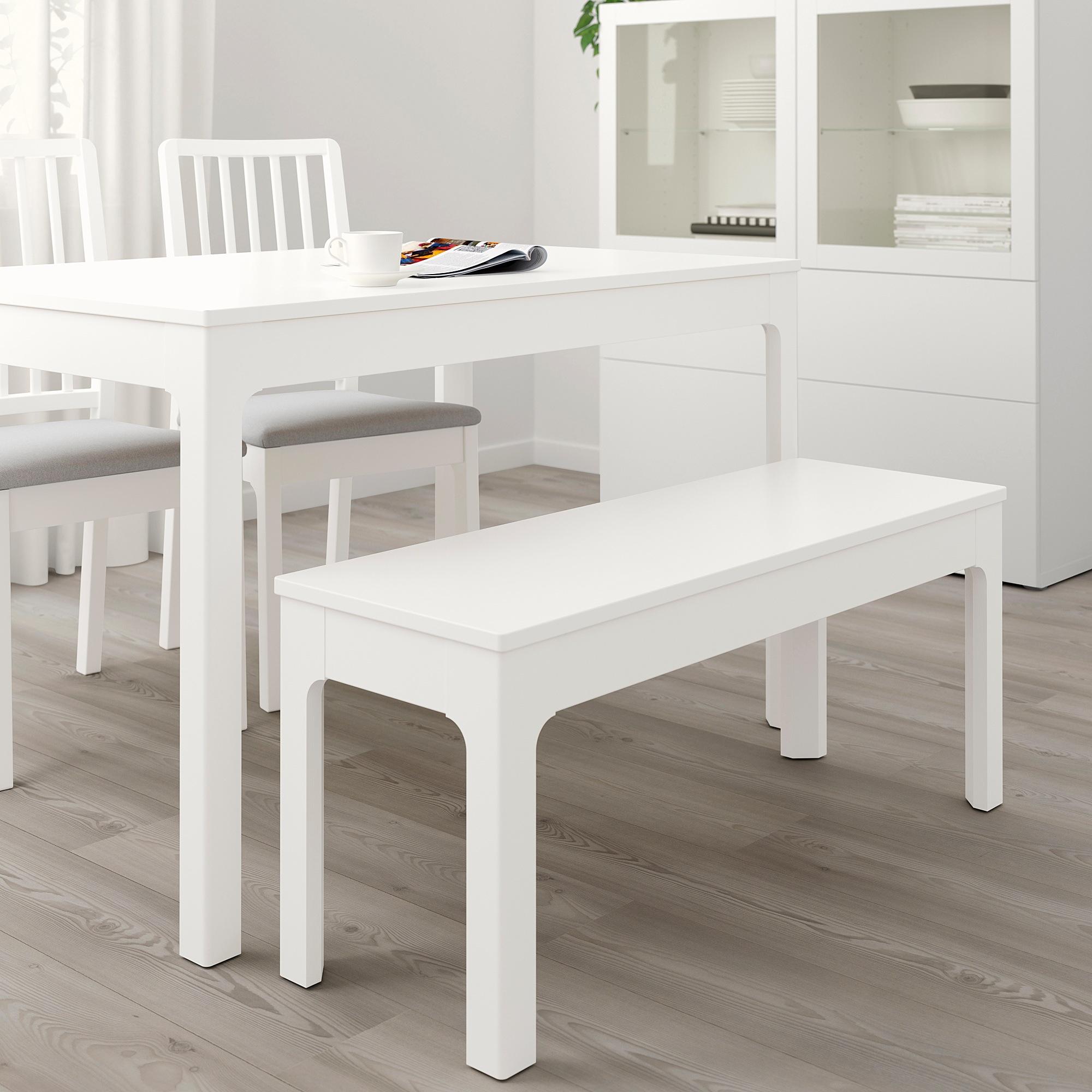 Ekedalen Banc Blanc 105x36 Cm Ikea