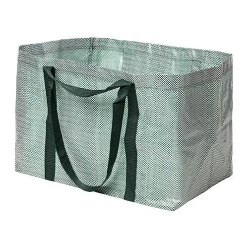 YPPERLIG Kasse, stor IKEA Enkel att förvara eftersom den kan vikas ihop helt platt. Passar även bra till källsortering.