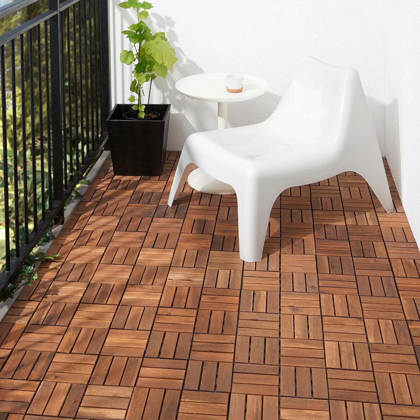 runnen floor decking outdoor brown stained 0 81 m