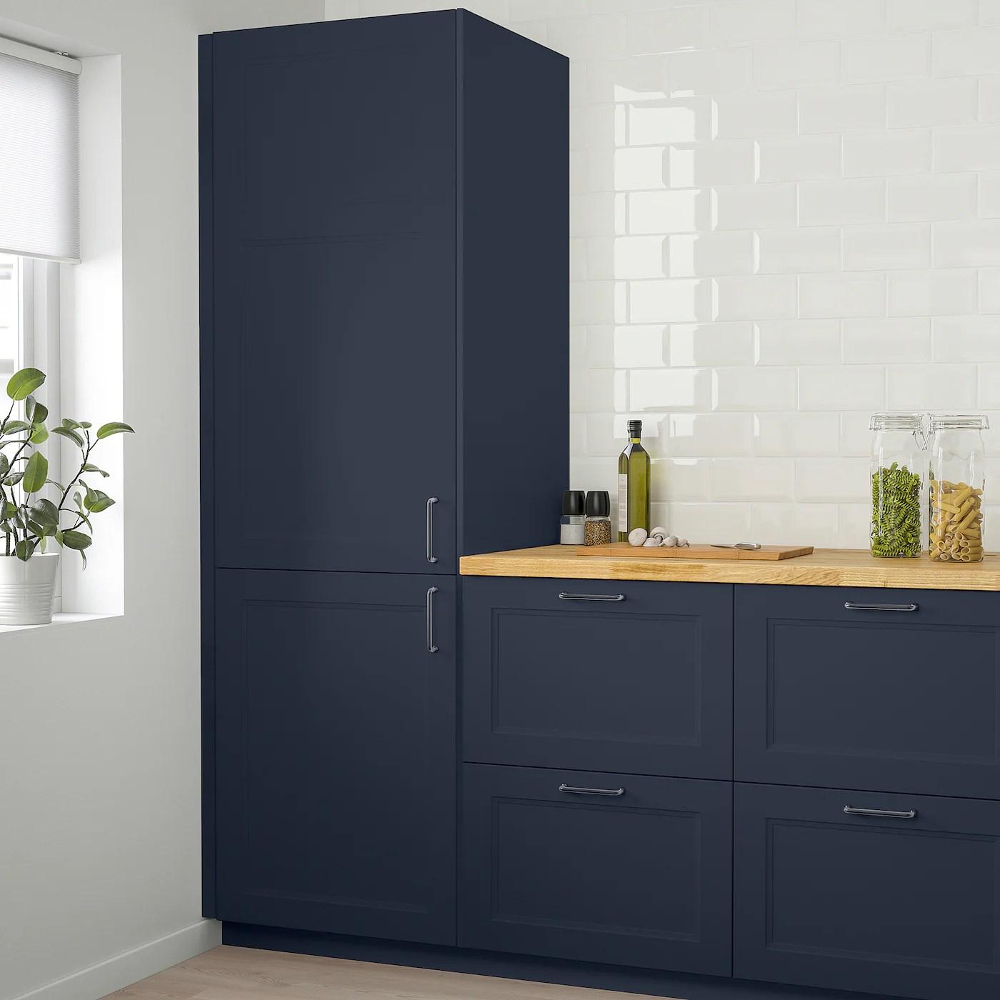 Axstad Door Matte Blue 12x40 Ikea