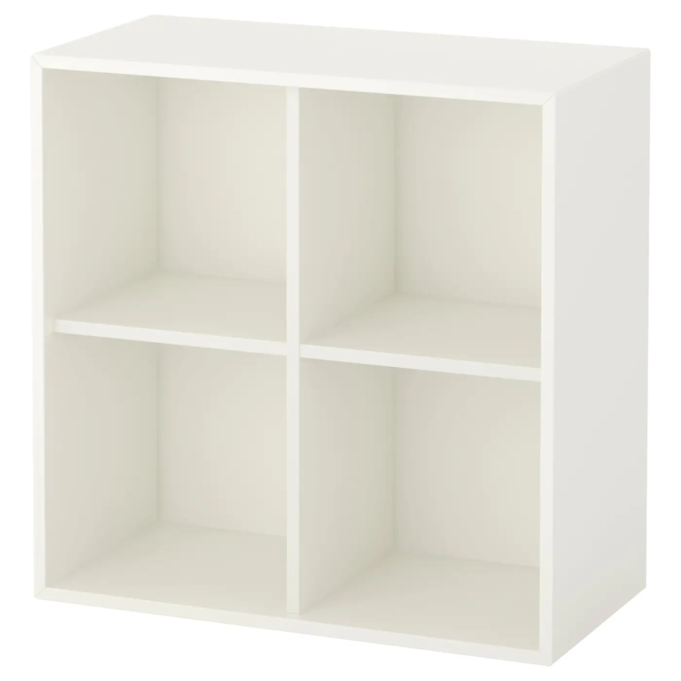 eket cabinet with 4 compartments white