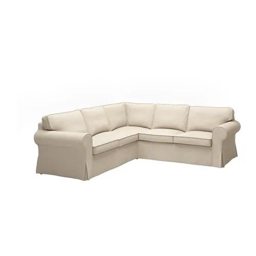 EKTORP Sectional 4 Seat Corner Nordvalla Dark Beige IKEA