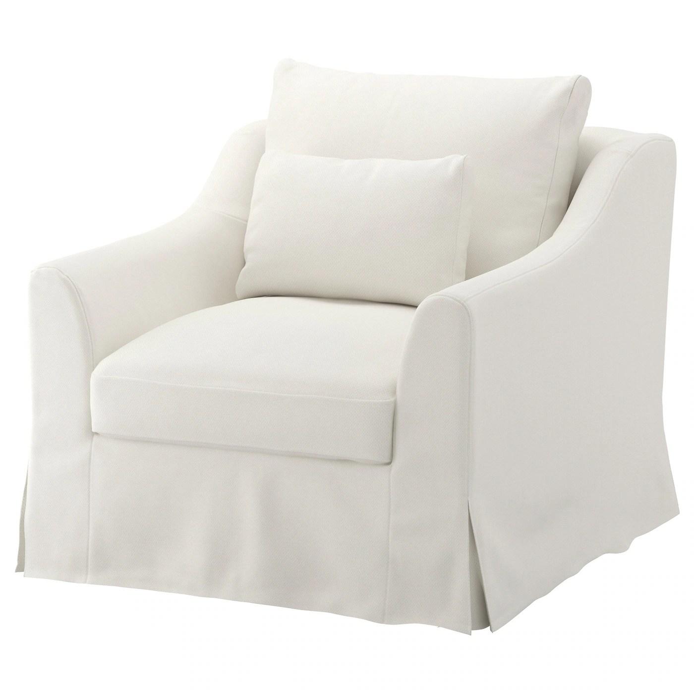 Farlov Armchair Flodafors White Ikea
