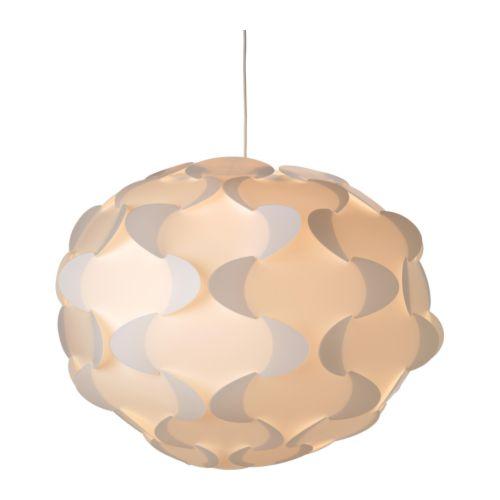 """FILLSTA Pendant lamp white Diameter: 31 """" Cord length: 71 """"  Diameter: 78 cm Cord length: 180 cm"""