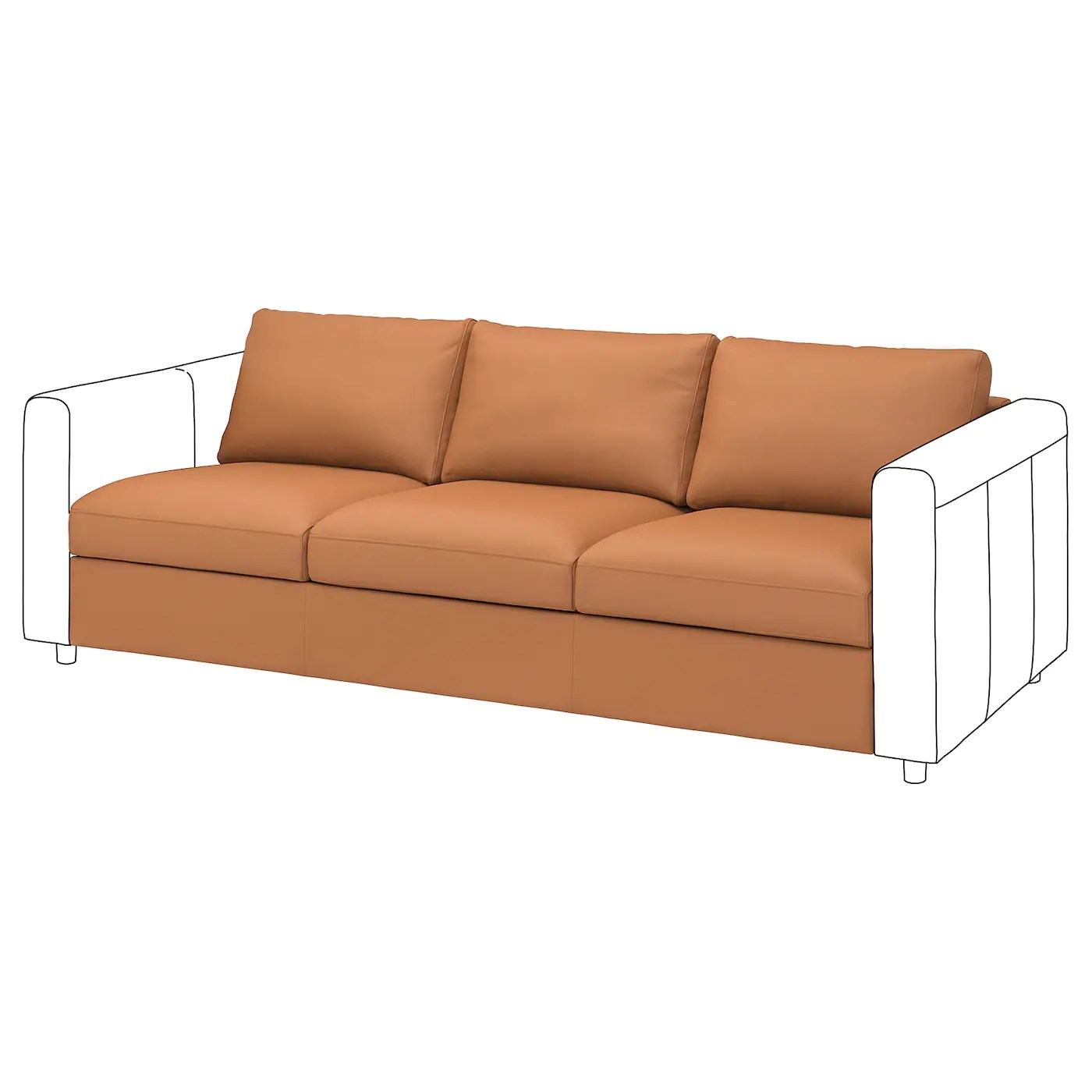 faux leather sofas and loveseats