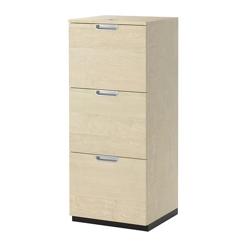 'large filing cabinet' IKEA