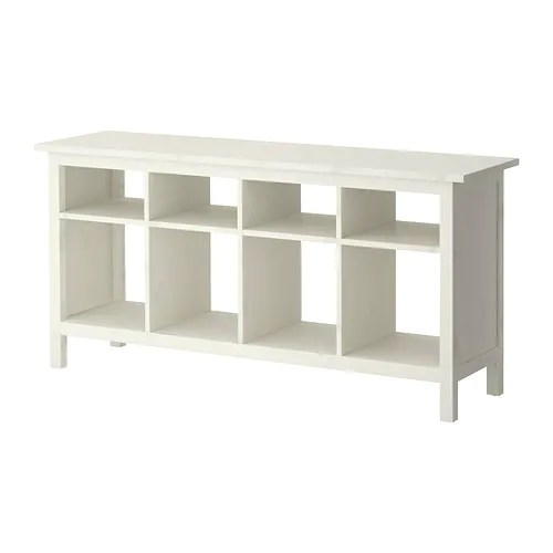 HEMNES Sofa table IKEA Solid wood has a natural feel.