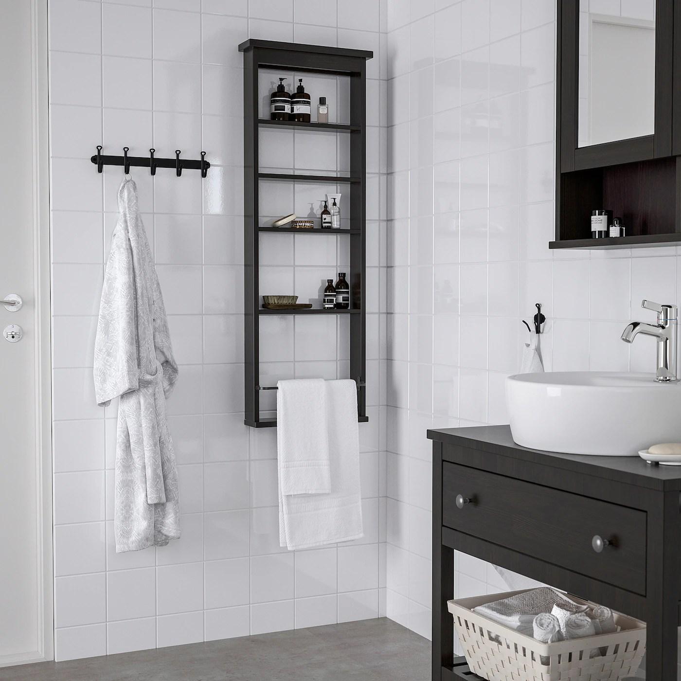 Hemnes Wall Shelf Black Brown 16 1 2x46 1 2 Ikea