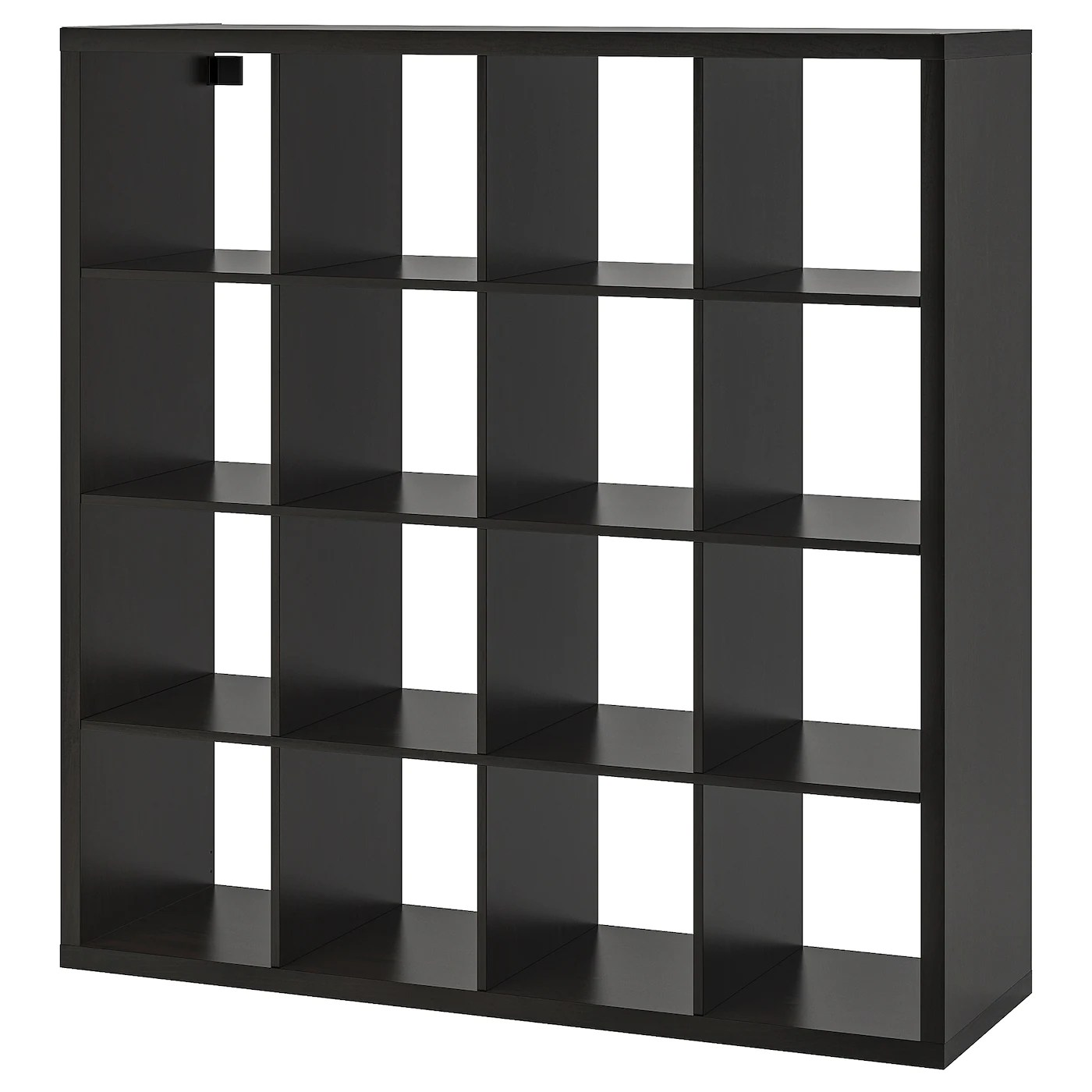 Kallax Shelf Unit Black Brown 57 7 8x57 7 8 Ikea