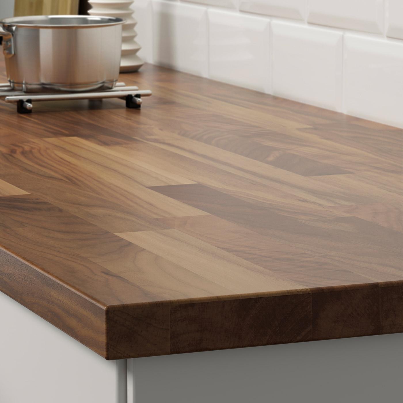 Karlby Countertop For Kitchen Island Walnut Veneer 74x42x1 1 2 Ikea