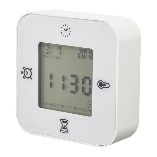 klockis clock thermometer alarm timer