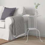 Lindved Side Table White 20x26 3 4 Ikea
