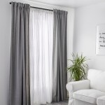 Matilda Sheer Curtains 1 Pair White Ikea
