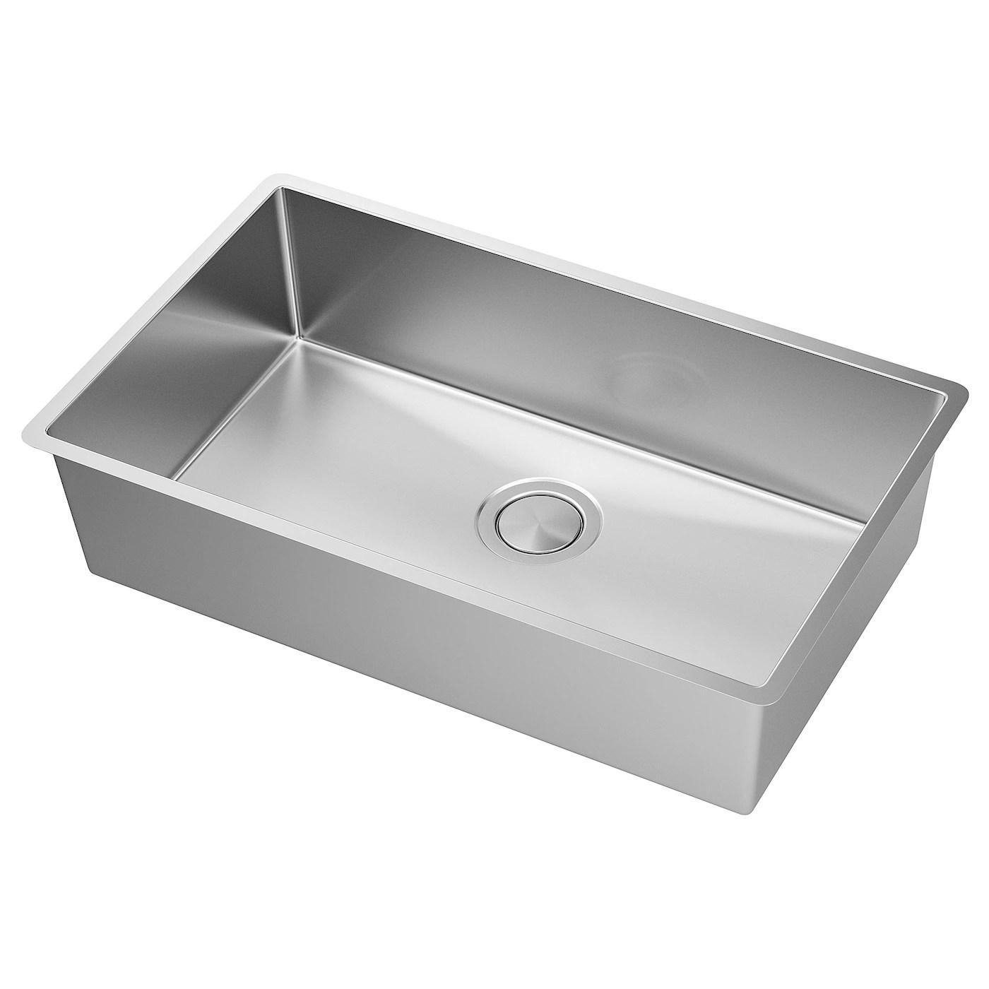 norrsjon sink stainless steel 29x17 3 8