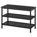Pinnig Bench With Shoe Storage Black Ikea