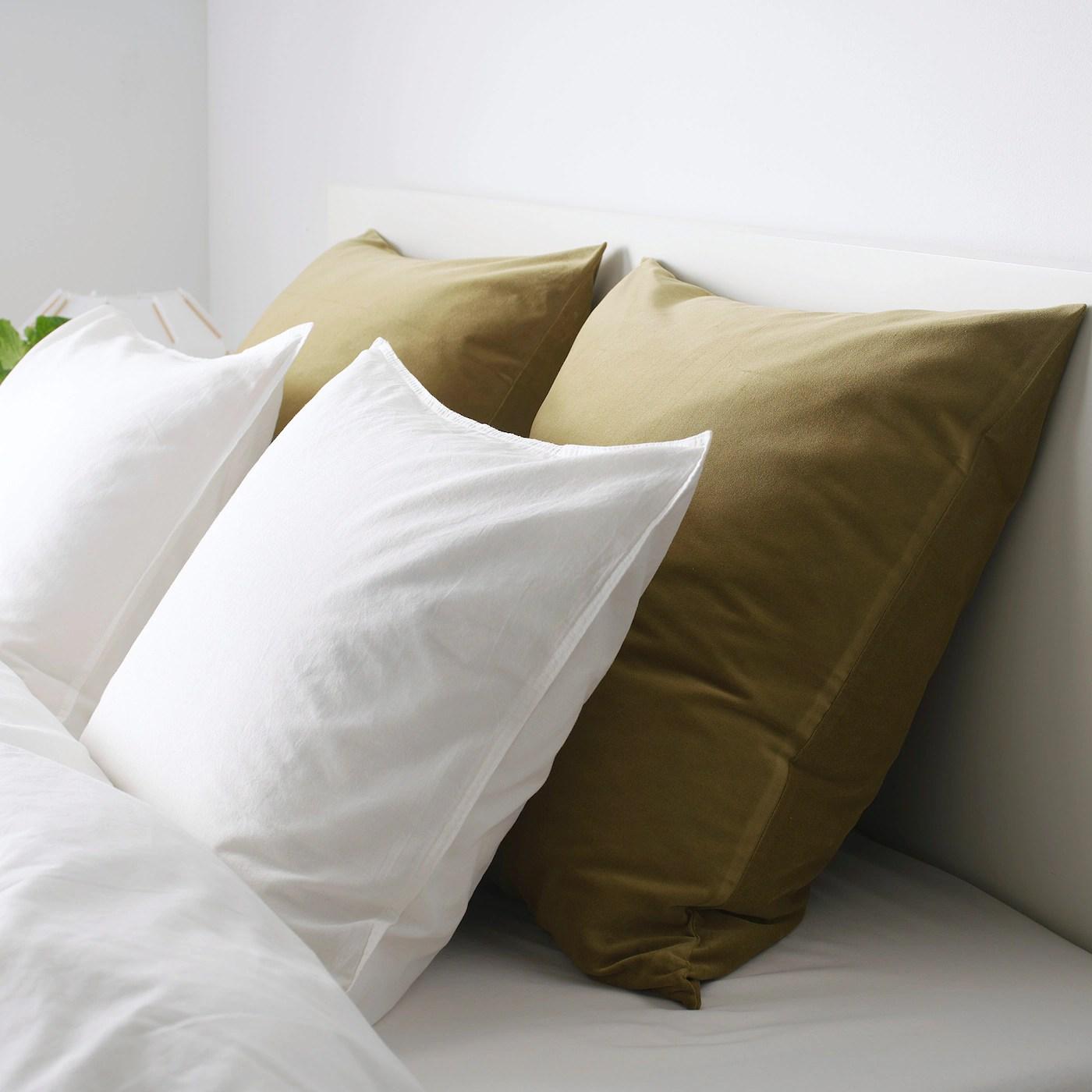 sanela cushion cover light olive green 26x26