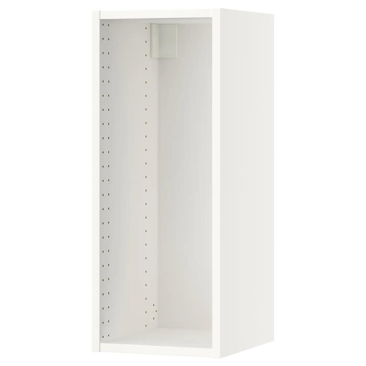 Sektion Wall Cabinet Frame White 12x14 3 4x30 Ikea