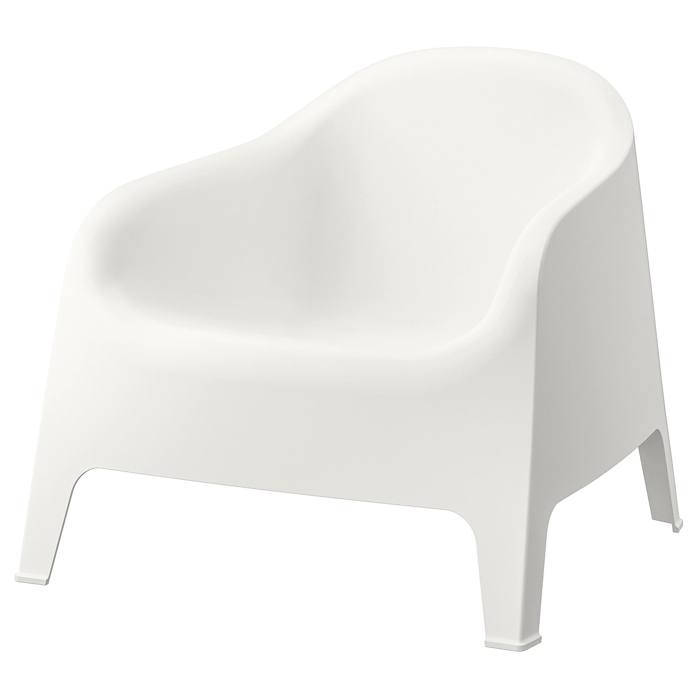 Skarpo Armchair Outdoor White Ikea