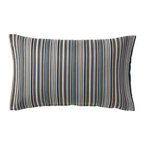 STRANDKÅL Cushion cover IKEA The zipper makes the cover easy to remove.