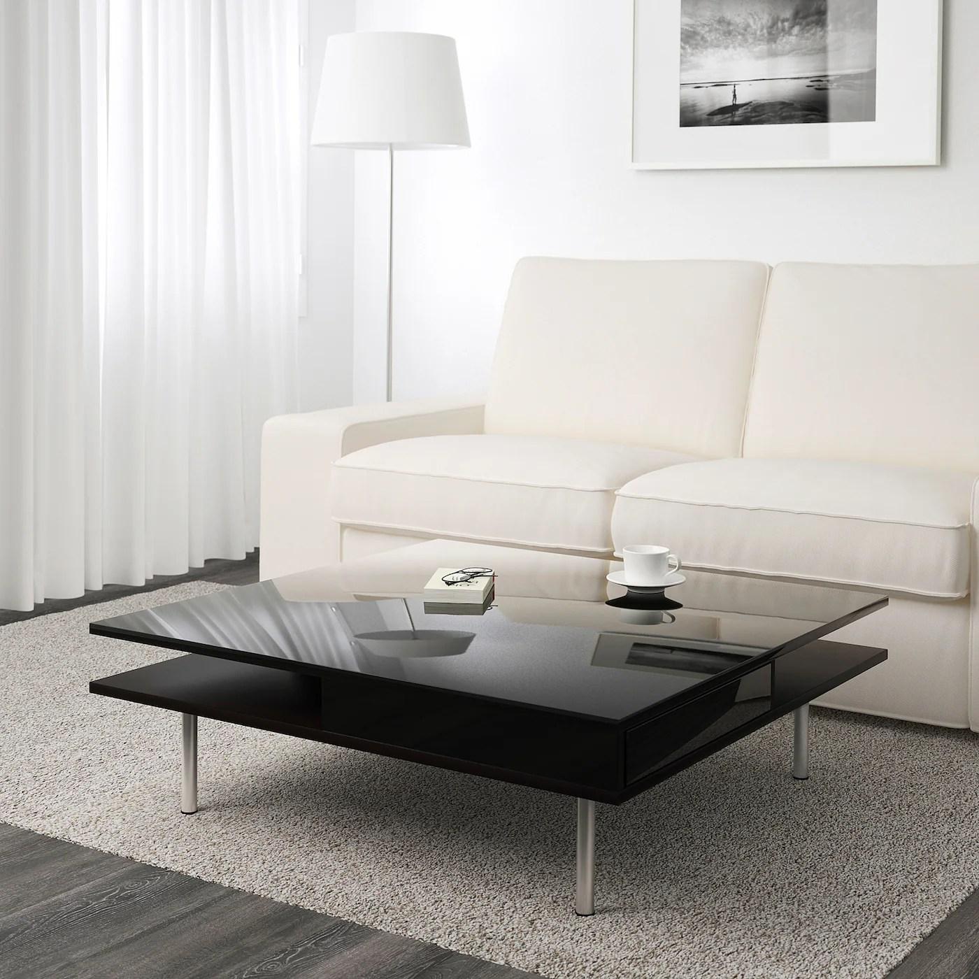 tofteryd coffee table high gloss black 37 3 8x37 3 8