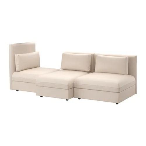 VALLENTUNA Sectional 3 Seat Murum Beige IKEA