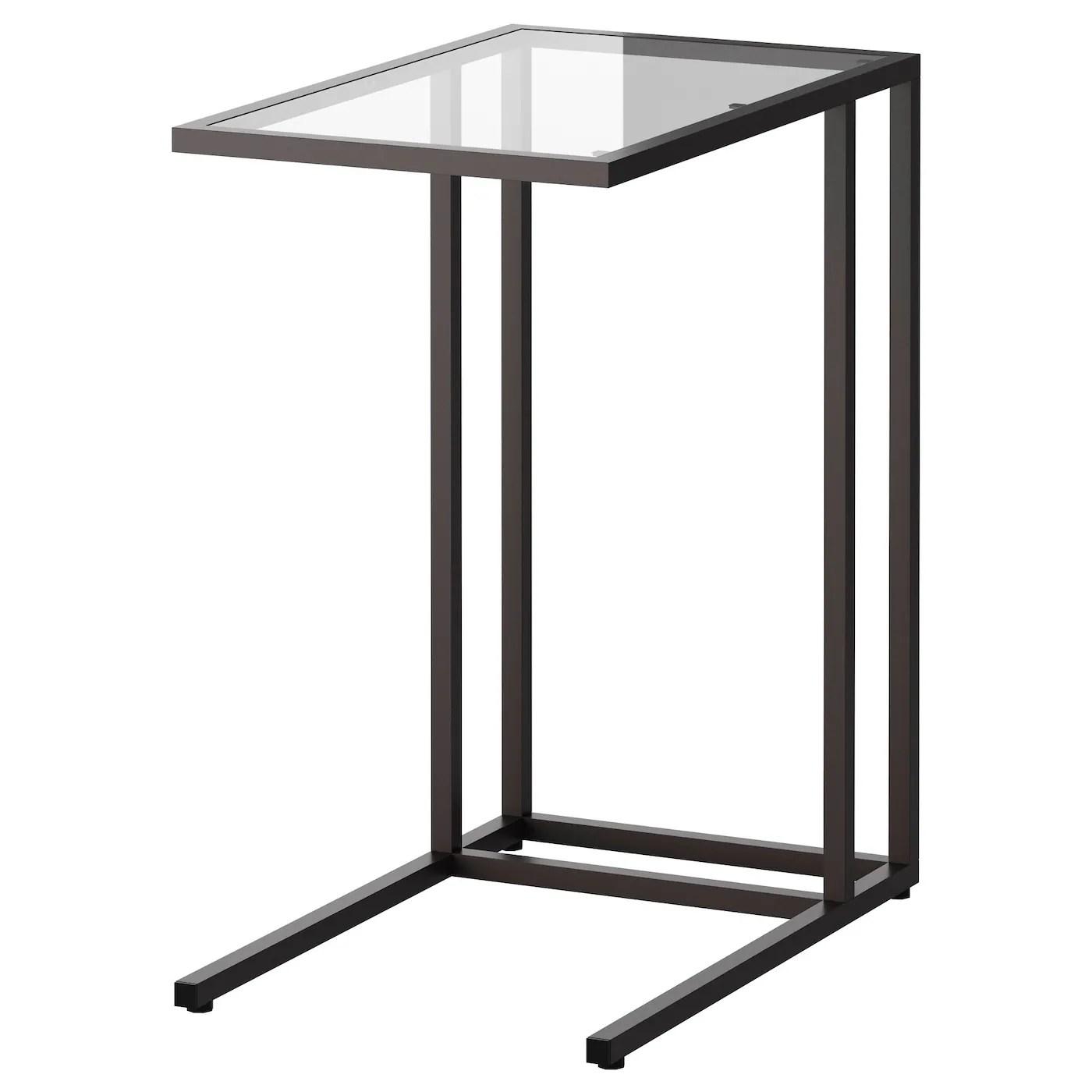Vittsjo Laptop Stand Black Brown Glass 13 3 4x25 5 8 Ikea