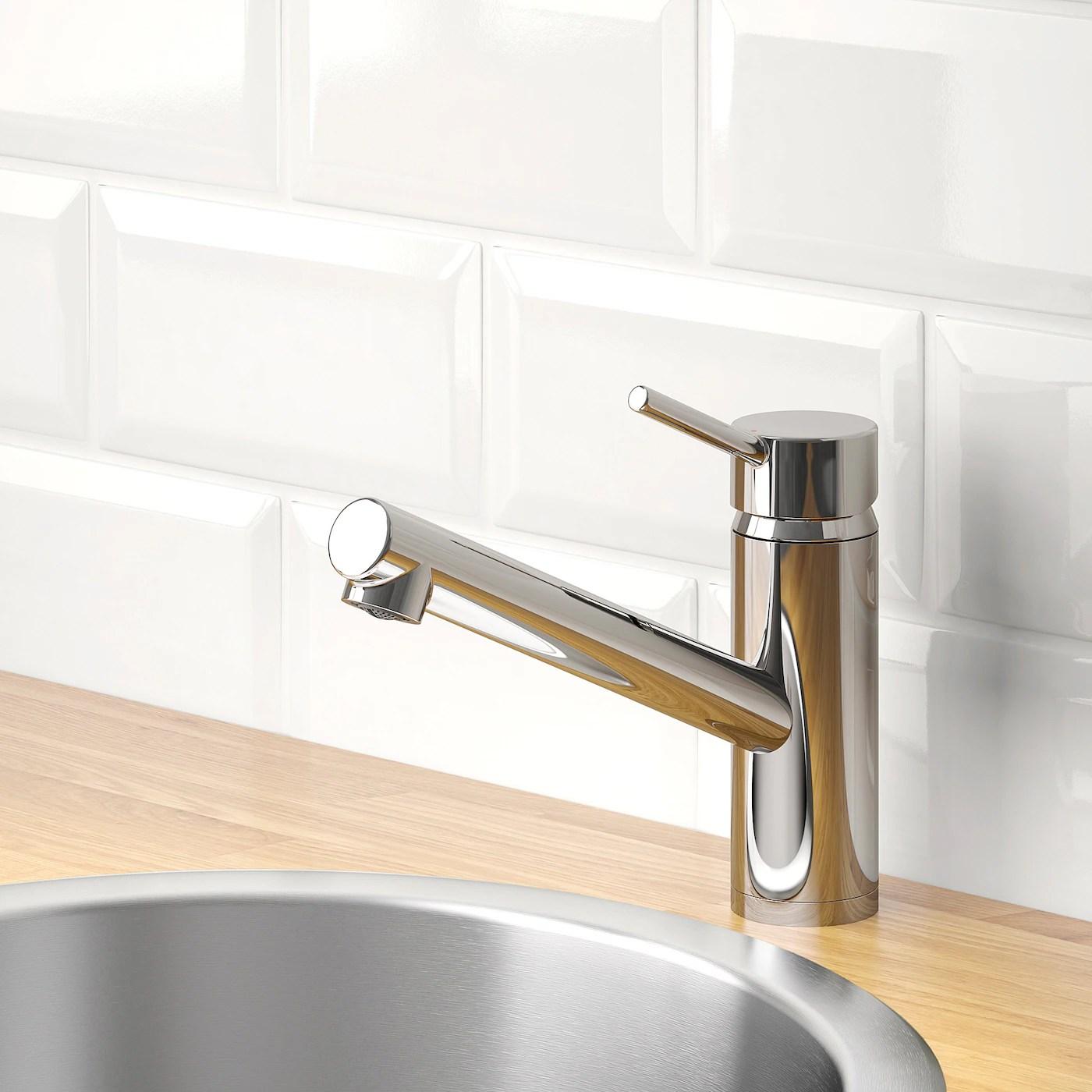 yttran kitchen faucet chrome plated