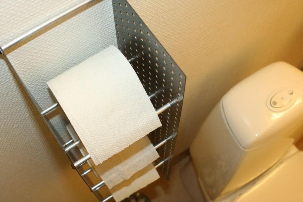 Triple Toilet Paper Roll Storage IKEA Hackers IKEA Hackers