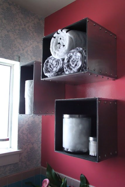 Prant Storage Boxes Become Steam Punk Wall Storage Ikea