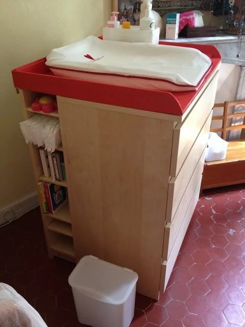 Malm Amp Benno Baby Changing Table Ikea Hackers