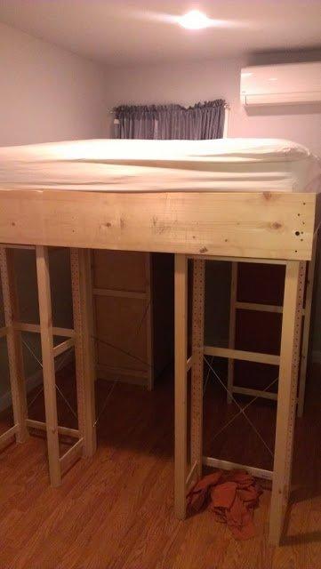 Ivar Aspelund Malm Loft Storage Bed Ikea Hackers Ikea