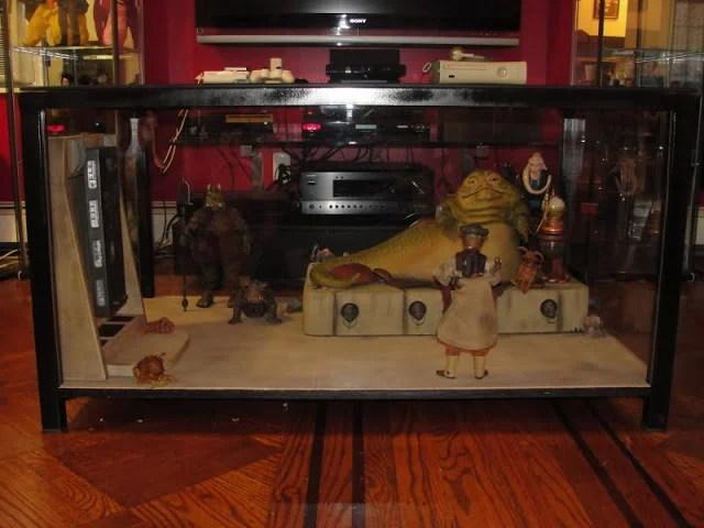Collector Display Case Granas Coffee Table Hack Ikea