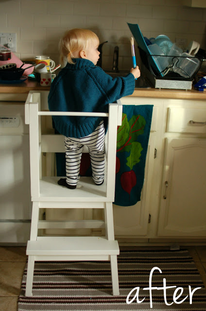Lucy S Learning Tower Ikea Hackers
