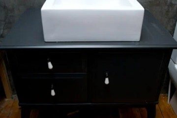 Sink On The Edland Bedside Table Ikea Hackers