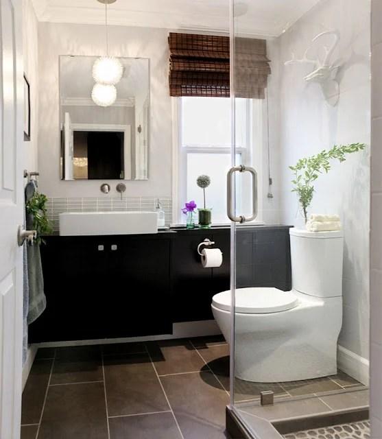 Superb Bathroom vanity hack Optical illusion with secret storage space