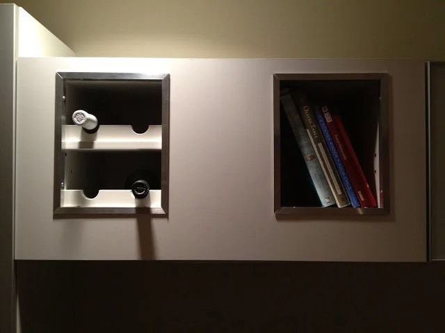 Horizontal Vent Hood Wine Rack Bookshelf Mash Up Ikea