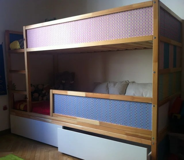 Ideal Kura bunk bed with underbed storage