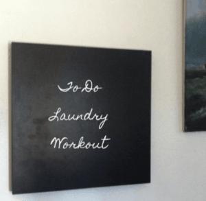 LACK chalkboard