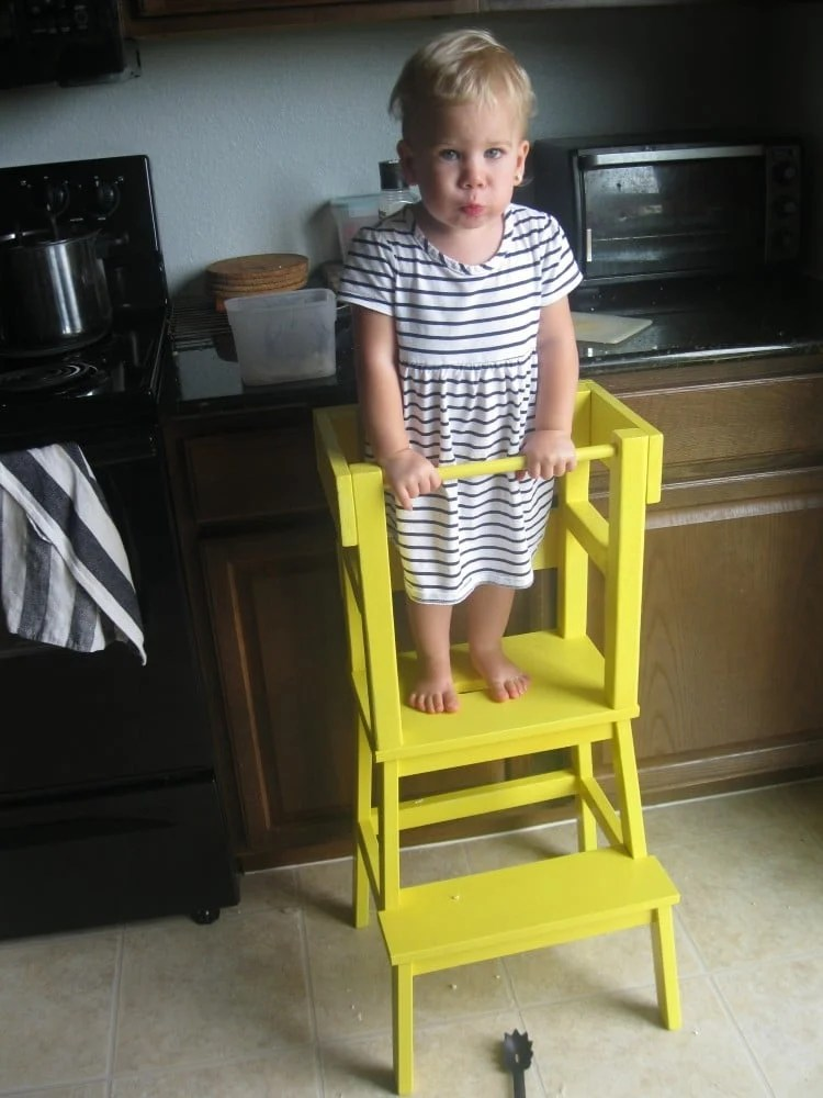 DIY Learning Tower With IKEA BEKVM Step Stool IKEA Hackers