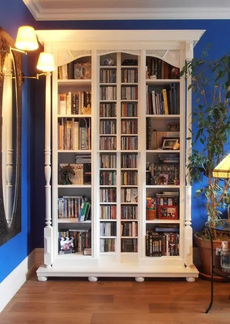 Fake Old Library Ikea Hackers