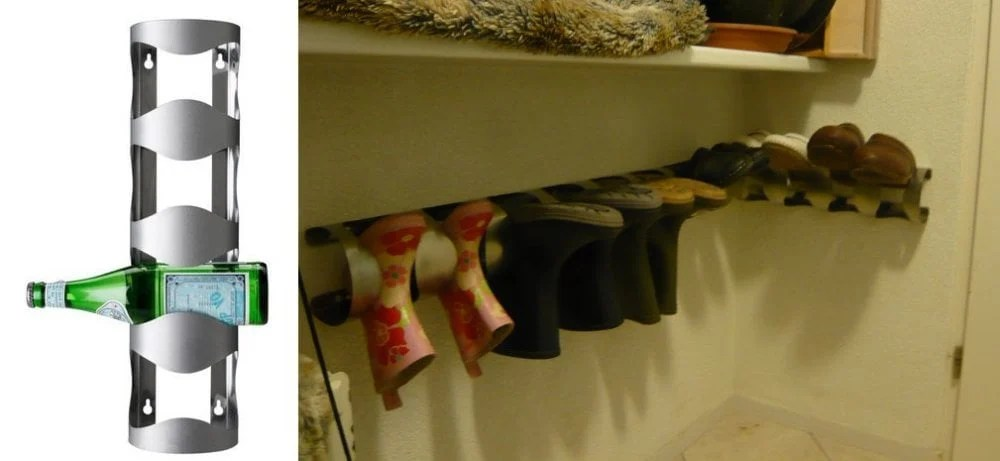 boots and clog storage vurm wine rack