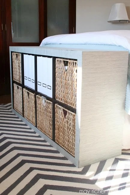 Upholster An Expedit With A Panel Curtain Ikea Hackers