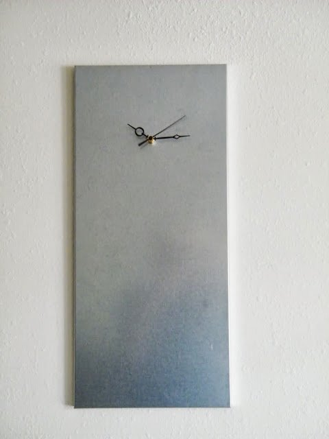modern industrial clock