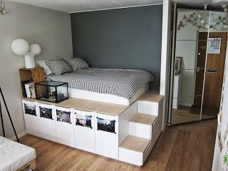 Faktum Storage Bed