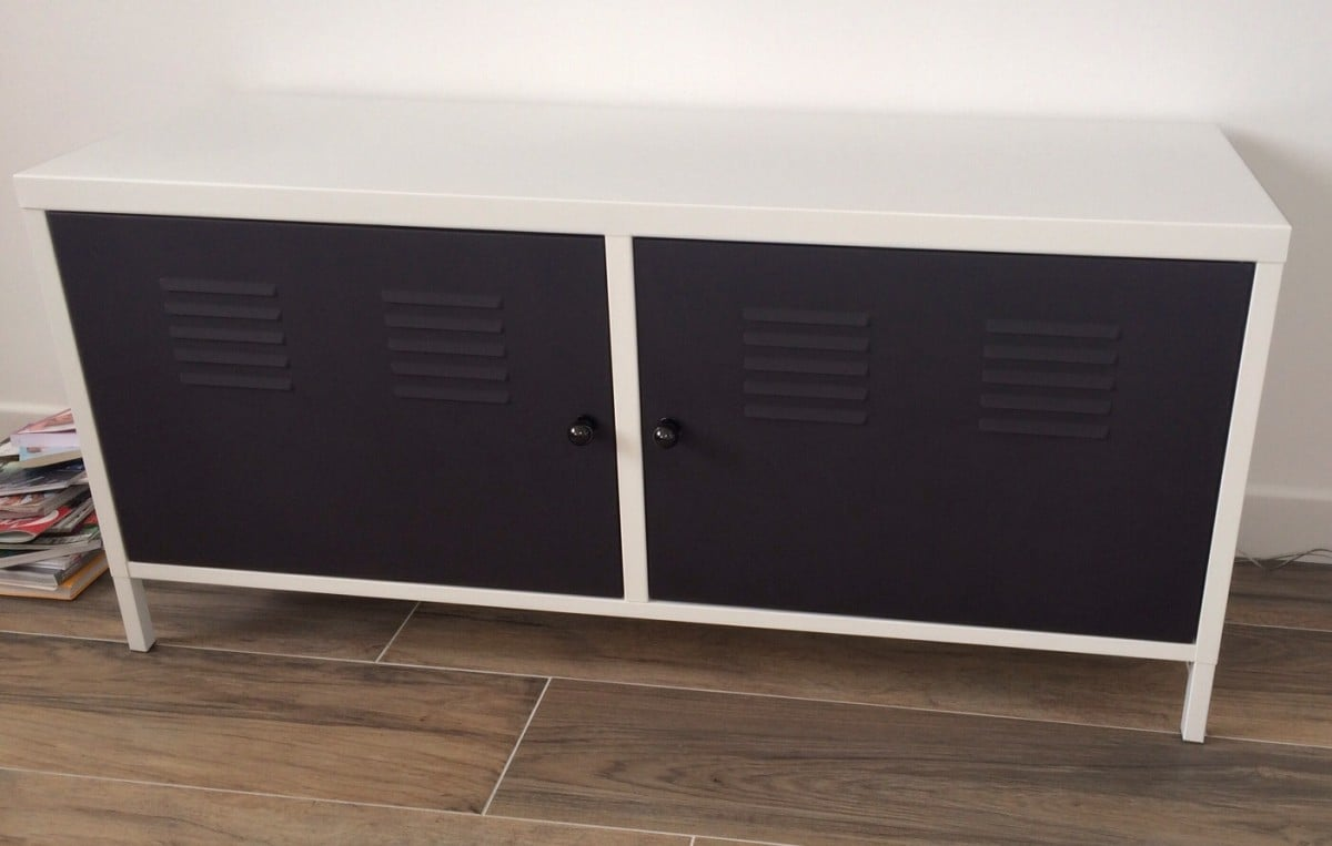 Ikea Ps 2012 Locker Redesigned As Tv Multimedia Cabinet