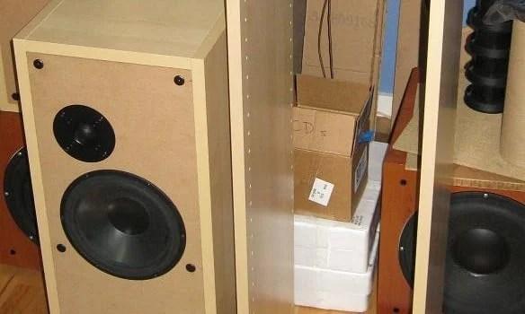 IKEA Kitchen Cabinets To Make BaffleXchange Speaker Boxes