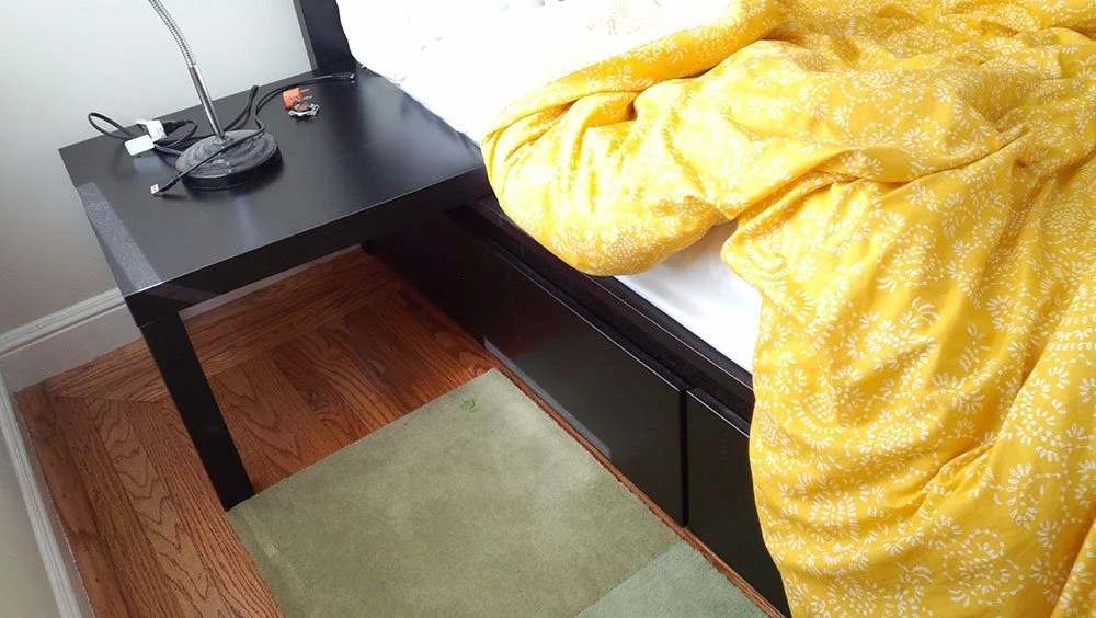 Got A MALM Bed With Drawers Want Easy Nightstands IKEA Hackers